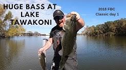 Lake Tawakoni Texas FBC Classic day 1