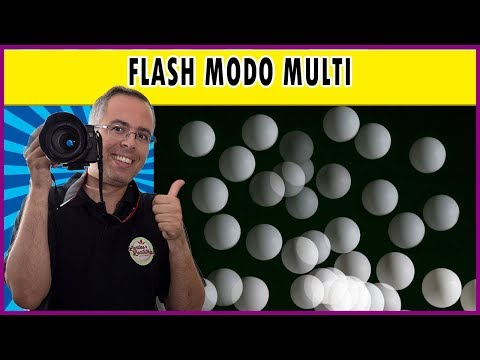 Flash modo MULTI: como usar o modo de repetição para criar o efeito estroboscópico