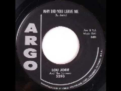 Lou Josie - Why Did You Leave Me