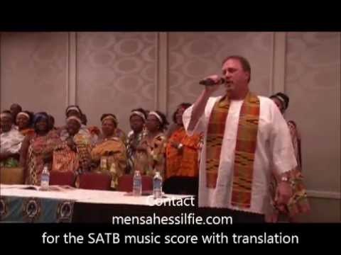 ALLELUIA! ME WO FAHO DI (I've been redeemed)  Larry Grunden & The Ohio Ghana Meth Choirs
