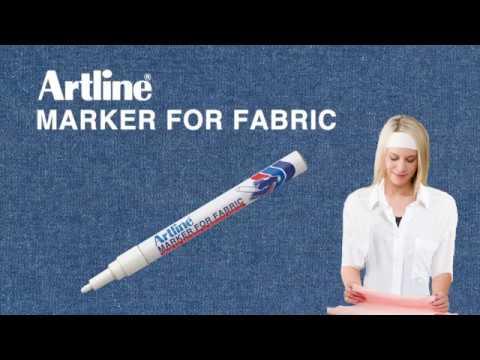Bút vẽ áo Artline màu trắng
