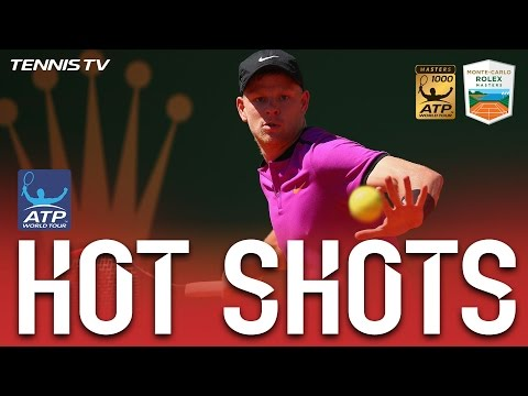 Edmund Hits Back-To-Back Hot Shots At Monte Carlo 2017