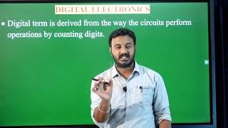 I PUC | ELECTRONICS | DIGITAL ELECTRONICS - 01