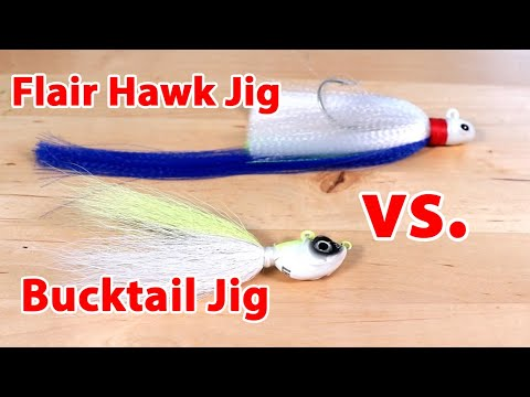 Bucktail Jigs Vs. Flair Hawk Jigs: Differences Between These Lures & How To Fish Them