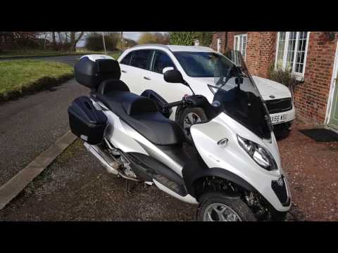 First Ride Out in 2017 on my Piaggio MP3 500 ABS/ASR
