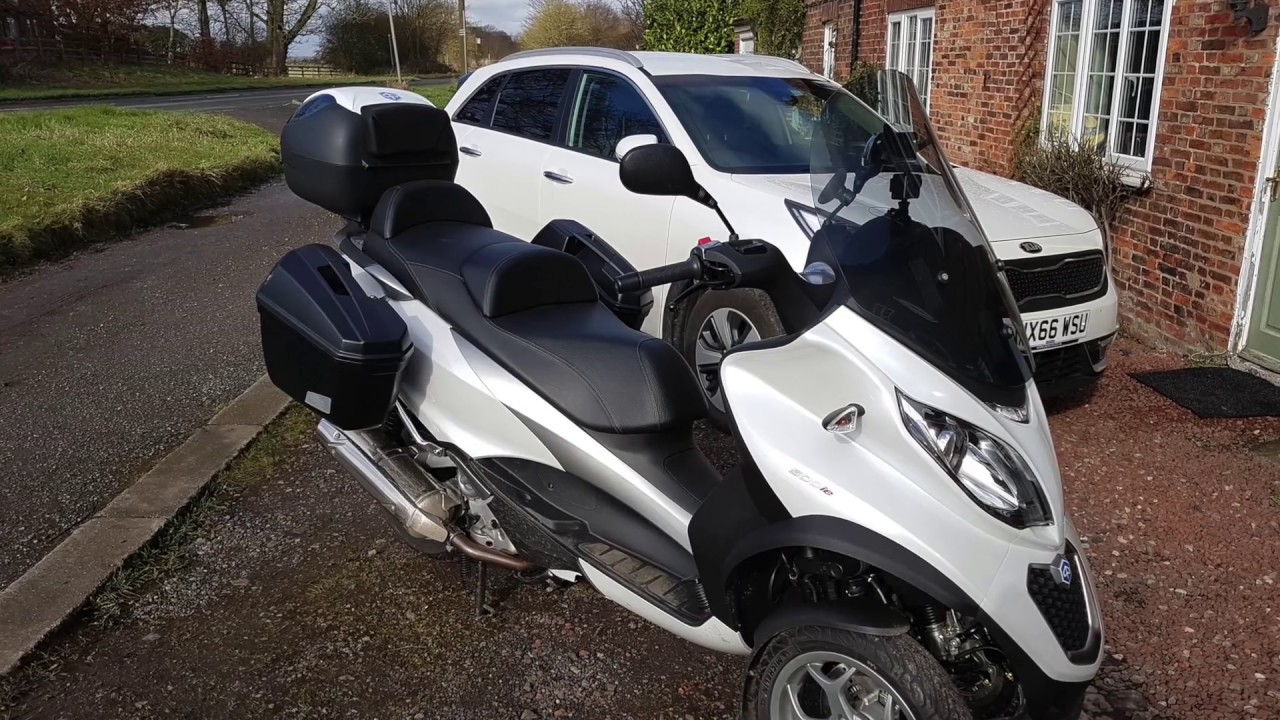first ride out in 2017 on my piaggio mp3 500 abs asr youtube. Black Bedroom Furniture Sets. Home Design Ideas