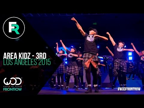 Area Kidz 3rd Place Youth | FRONTROW | World Of Dance Los Angeles 2015 | #WODLA15