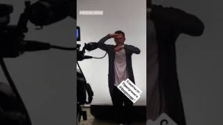 """Backstage фотосессии Павла Прилучного для шоу """"Короли фанеры"""""""