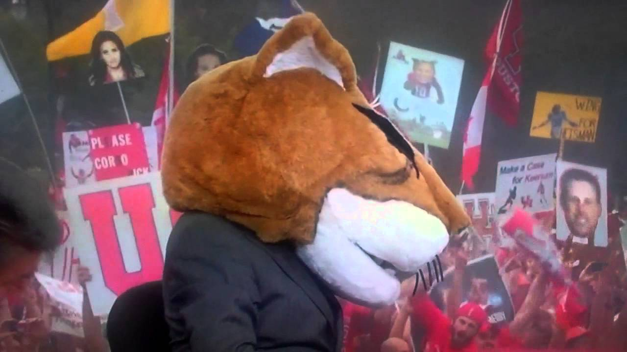 "Lee Corso says ""Ahh...Fuck it!!"" On College Gameday"
