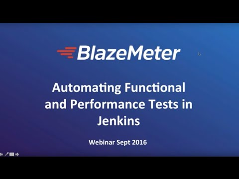 Automating Functional and Performance Tests in Jenkins CI Environments
