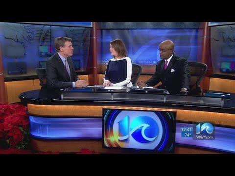 U.S. Sen. Mark Warner interview at WAVY