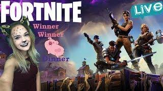 FORTNITE BATTLE ROYALE!!! [PS4 Pro] ~Let's get that PORK dinner!