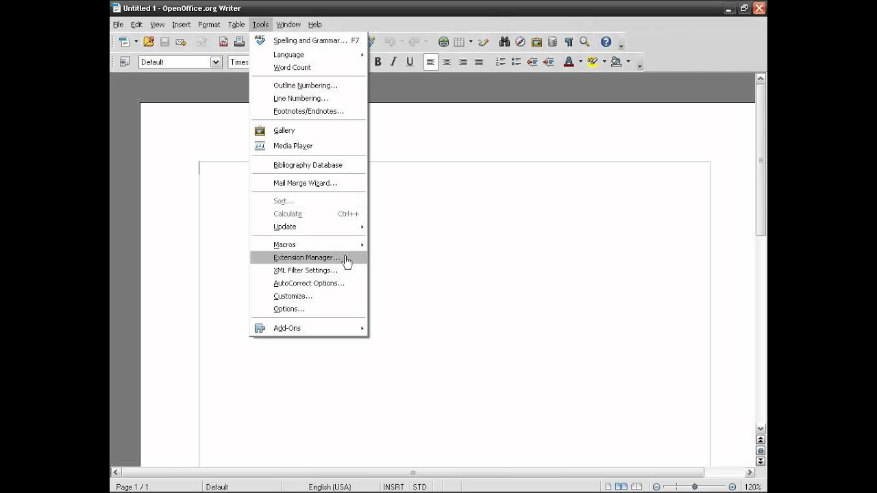 Libreoffice zotero does not work