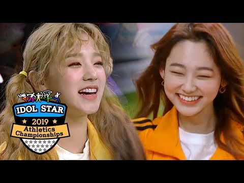 Yuqi is The Ace of (G)I-DLE~ Her Highest Score Was 190! [2019 Idol Star Athletics Championships]