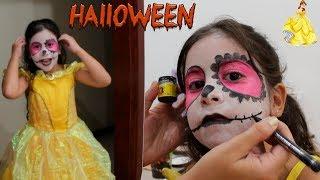 A BELA QUE VIROU FERA... 😱  Maquiagem de Halloween 🎃