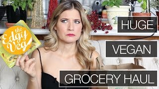 Vegan / Vegetarian Grocery Haul -January | The Edgy Veg