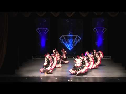 EL SINALOENSE - Steps of Gold Dance Studio [Long Beach, CA]