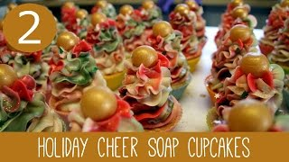 Christmas Soap Cupcakes | Royalty Soaps