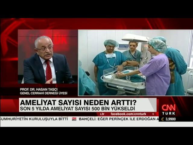 Prof. Dr. Hasan Taşçı - Günlük - CNN Türk  07.02.2017