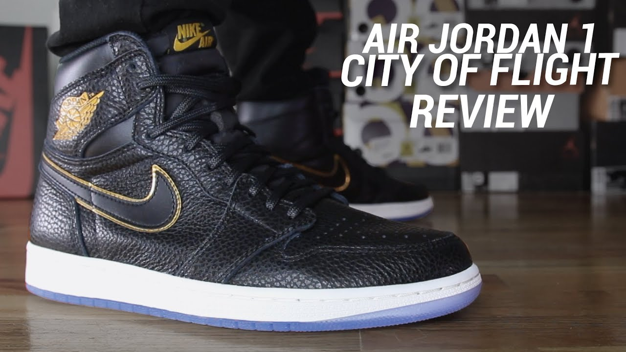 222c77230a2 AIR JORDAN 1 CITY OF FLIGHT REVIEW - YouTube