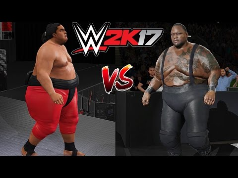 WWE 2K17 MODS: Big Daddy V vs. Yokozuna
