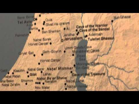 Archaeological sites Map of Israel Jordan Syria Lebanon