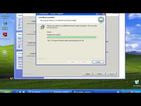 GroupWise 2012 - Windows XP Client Media Install.mp4