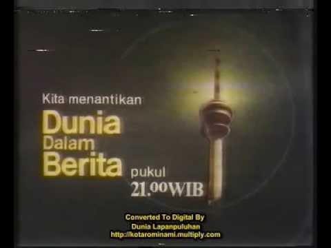Sejarah Pertelevisian Indonesia - Dunia Dalam Berita TVRI