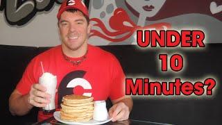 Sugarloaf's Pancake Challenge - 10 Pancakes in Less Than 10 Minutes!!