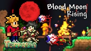 Terraria Let's Play - Blood Moon Rising [10]