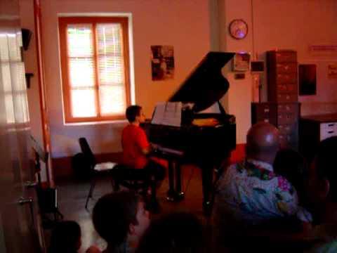 Ecole de musique Lyon 9e - audition piano du 14/06/12