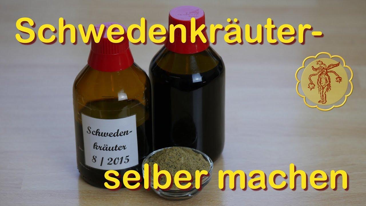 Entzündungen schwedenkräuter gegen Schwedenbitter oder