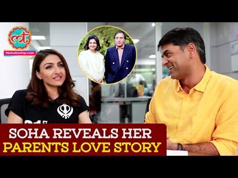 Soha Ali Khan Reveals Tiger Pataudi and Sharmila Tagore's Love Story   The Lallantop
