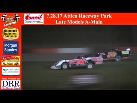 7.28.17 Attica Raceway Park Late Models A-Main