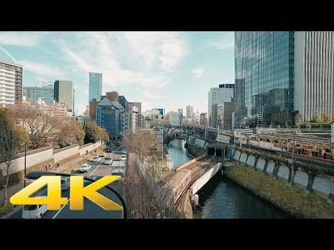 Walking around Ochanomizu station, Tokyo - Long Take【東京・御茶ノ水】 4K