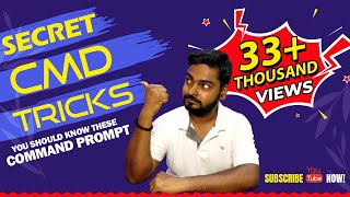 Command Prompt Secret Tricks || You Should Know || [IN HINDI] || cmd tricks