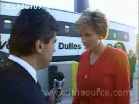 Princess Diana gives brief interview! (Rare)