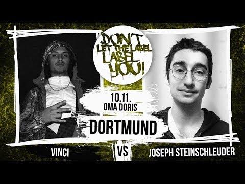 Joseph Steinschleuder vs Vinci // DLTLLY RapBattle (Dortmund // Day1) // 2018