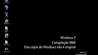 Como ativar o Windows 7 (Tirando erro de Compilação 7600)