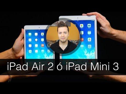 ¿Qué me compro? iPad Air 2 o iPad Mini 3