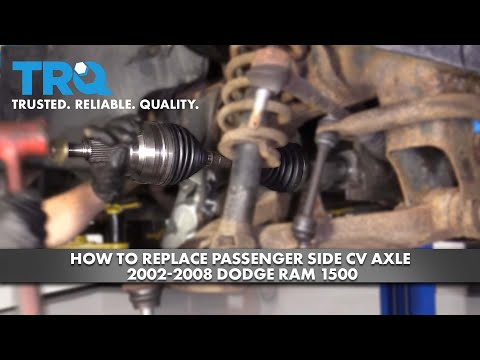 How to Replace Passenger's Side CV Axle 2002-08 Dodge RAM 1500