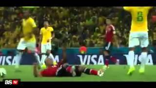 reconocimiento de As TV a James Rodrigues en el partido Brasil vs Colombia brasil 2014