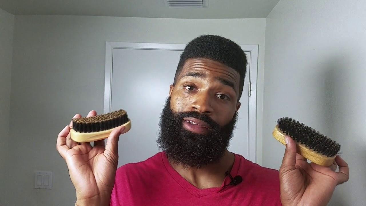 How To Choose The Best Beard Brush | Beginners - YouTube