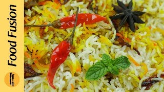 Best  Recipe for Kachay Gosht ki chicken Biryani - Food Fusion