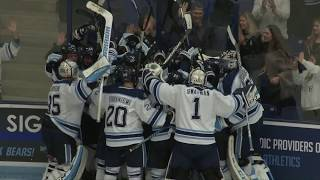 Men's Hockey: Maine defeats UCONN, 4-3, in overtime