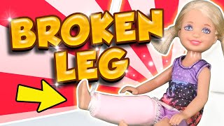 Barbie - Chelsea's Broken Leg