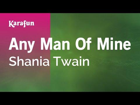 Karaoke Any Man Of Mine - Shania Twain *