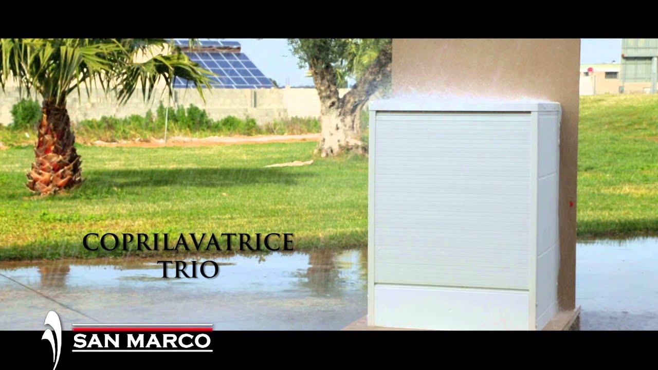 arredo bagno: mobile copri lavatrice trio | san marco - youtube - San Marco Arredo Bagno