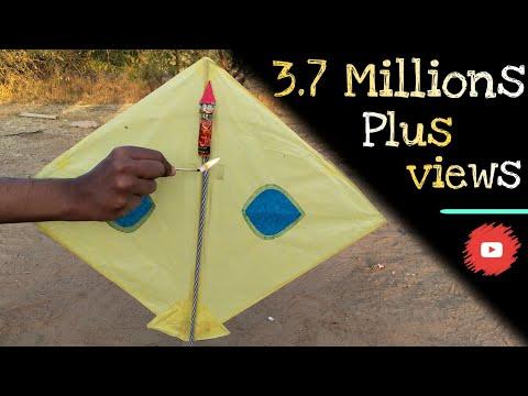 Makarsakranti special : kite vs Rocket experiment || Rocket will burn or not
