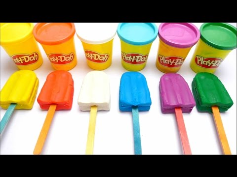 Thumbnail: How to Make PlayDoh Ice Cream with Molds Creative for Kids - English Colours Learning